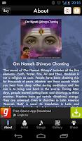 Screenshot of Om Namah Shivaya Chanting Lite