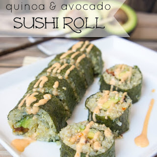 Quinoa and Avocado Sushi Rolls