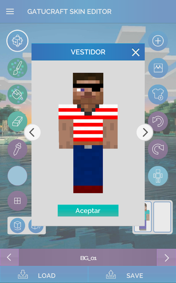 3d skin editor for minecraft android apps on google play Minecraft 3d model maker