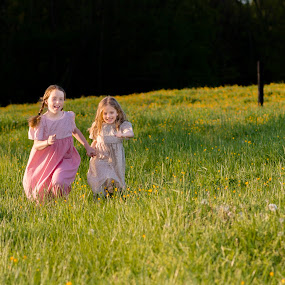 Field of Flowers by Renee Crabtree - Babies & Children Children Candids ( field, child )