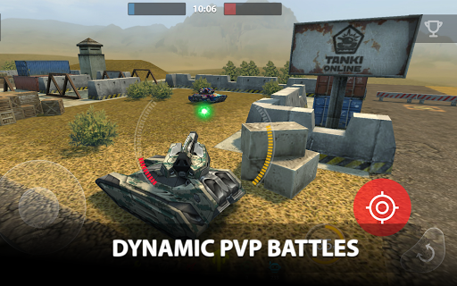Tanki Online - PvP tank shooter apkpoly screenshots 15