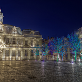 Troyes - France by Dominic Jacob - City,  Street & Park  Night ( nightshot, nights, night, france, troyes, nightscapes, nightscape )