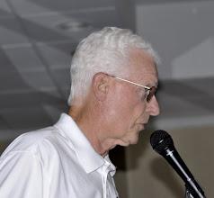 Photo: Philip Butler introduced Bob Bergdahl
