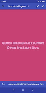 Font Viewer Plus 1.4.2c Mod APK Updated Android 2