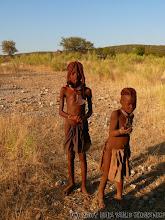 Photo: Himba děti - profesionální ž...... ;o) / Himba kids - professional beggars ;o)