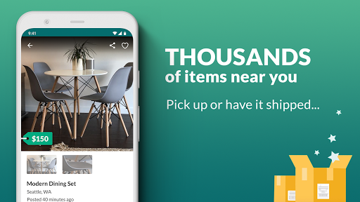 OfferUp: Buy. Sell. Letgo. Mobile marketplace screenshot 3
