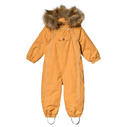 Kuling Val D'Isere Winter Overall Yellow Mustard Stl  80
