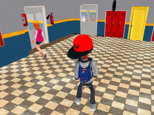 Virtual High School Simulator - School Games 3D apktram screenshots 12