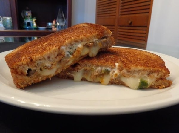 Grilled Double Cheese Korean Bbq Sandwich Recipe