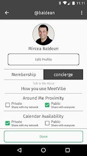 MeetVibe: Take Networking Further- screenshot thumbnail