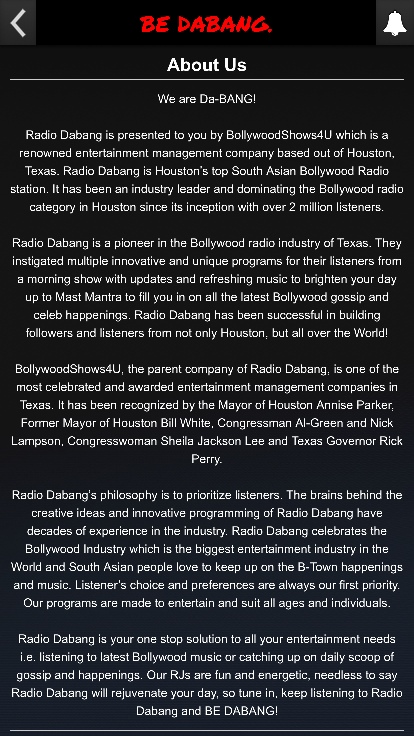 Radio Dabang- screenshot