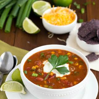 {Slow Cooker} Fiesta Ranch Taco Soup.