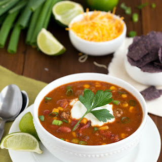 {Slow Cooker} Fiesta Ranch Taco Soup.
