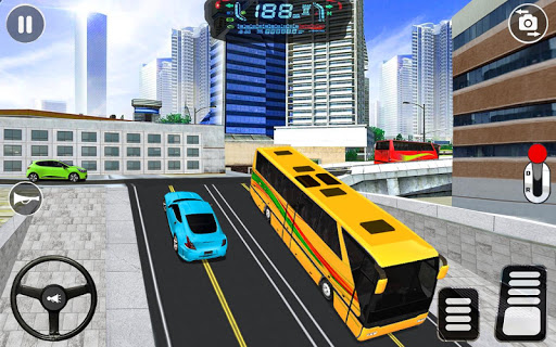 City Coach Bus Driving Simulator: Driving Games 3D android2mod screenshots 2