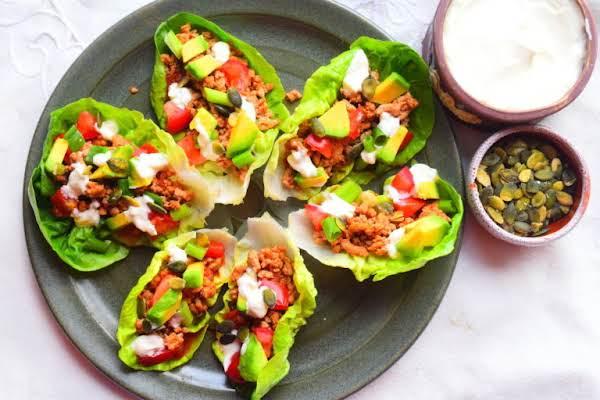 Turkey Lettuce Boats Recipe
