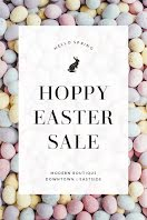 Hoppy Easter Sale - Postcard item