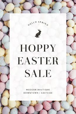 Hoppy Easter Sale - Easter item