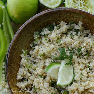 Cilantro Lime Quinoa.