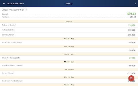 WPCU Mobile Banking screenshot 11