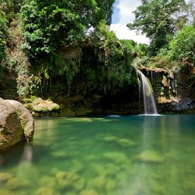 Bolinao Falls I by Jun  Gomez - Nature Up Close Water