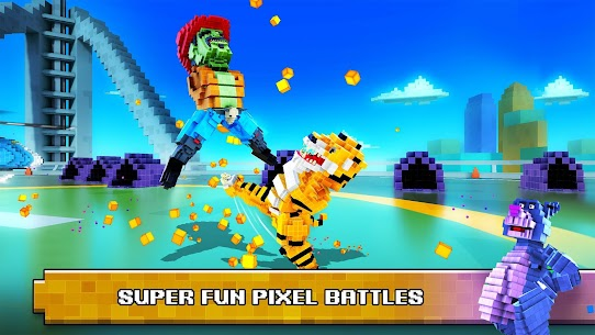 Super Pixel Heroes MOD (Free Shopping) 5