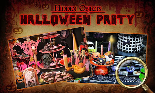 Hidden Objects Halloween Party