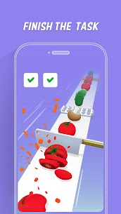 Slice Master: Cut Vegetables MOD (Unlimited Money) 4
