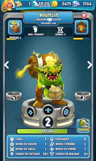 Code Triche Legend of Solgard APK MOD screenshots 6