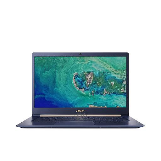 Máy tính xách tay/ Laptop Acer Swift 5 SF514-53T-720R (NX.H7HSV.002) (I7-8650U) (Xanh)
