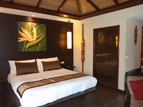 Photo: #009-Tieti Tera Beach Resort de Poindimié. La chambre