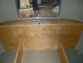 Photo: rear cabinet