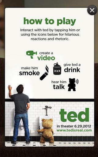 Talking Ted LITE screenshot 1