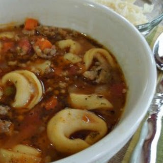 Beef Tortellini Soup Recipes.