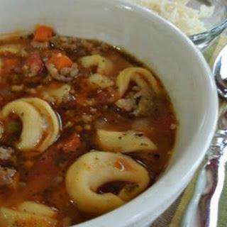 Beef Tortellini Soup Recipes.