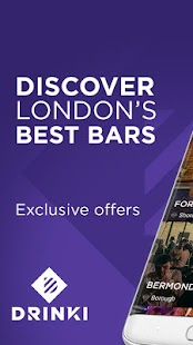 Drinki - London's Best Bars- screenshot thumbnail
