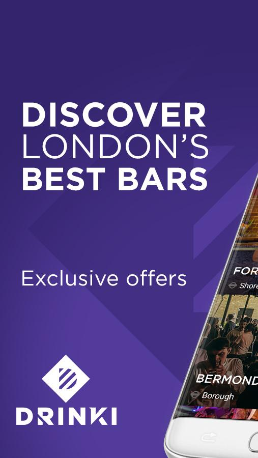 Drinki - London's Best Bars- screenshot