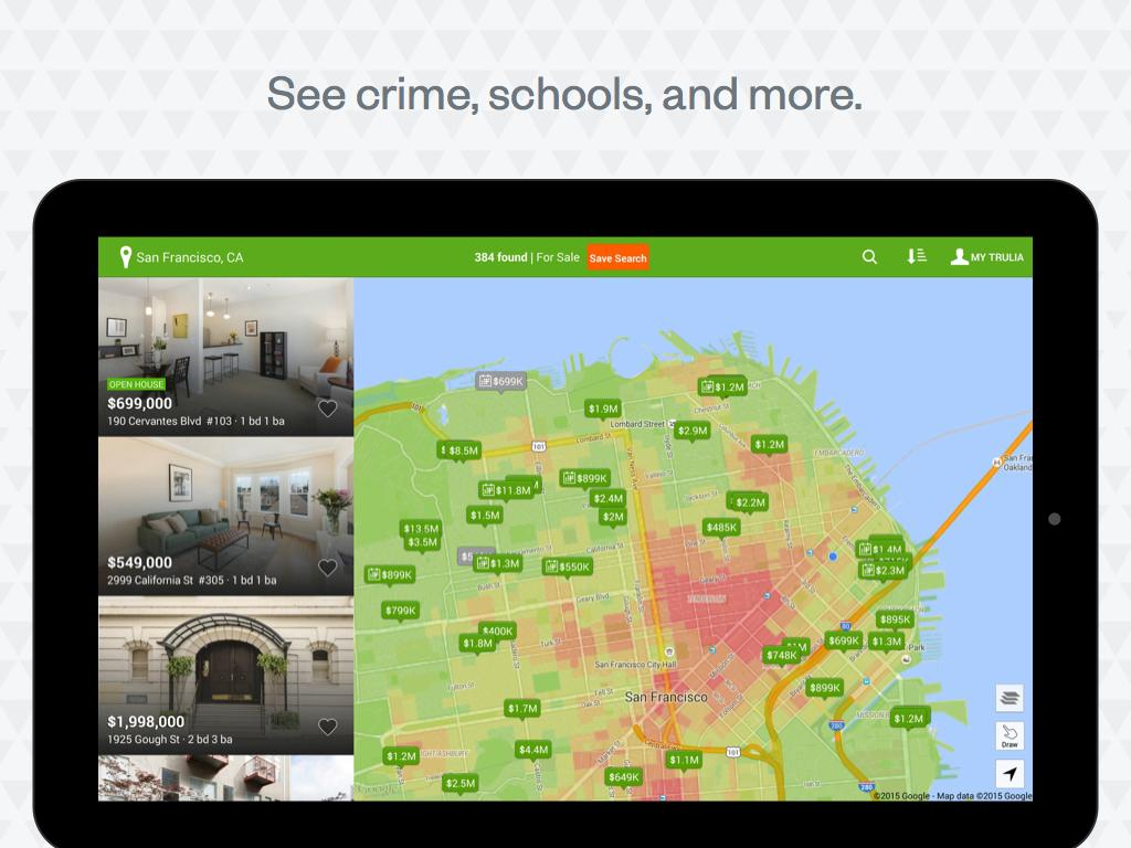 Trulia Real Estate & Rentals - screenshot