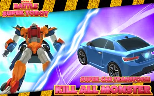 Super Tobot Battle Games - náhled