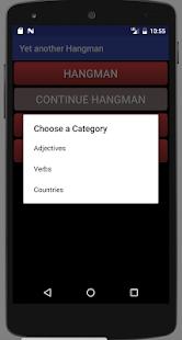Yet another Hangman screenshot