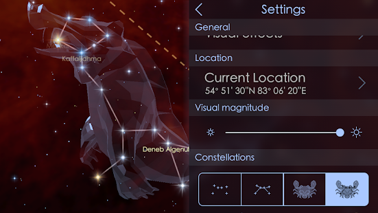 Star Walk 2 Free - Sky Map- screenshot thumbnail