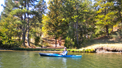 Photo: Depending on the weather and the fitness level, we may paddle a little farther into the canyon.