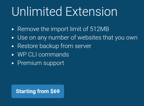 all in one wp migration wordpress migration plugin pricing