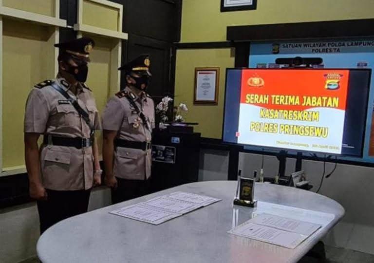 Kasat Reskrim Polres Pringsewu Mutasi Ke Polda Lampung