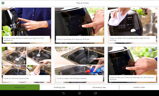 philips airfryer android apps on google play