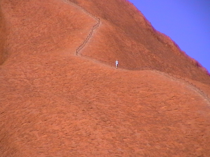 Sentiero solitario di volaura