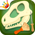 Dinosaurs for kids : Archaeologist - Jurassic Life icon