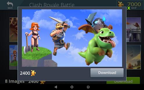 Clash Royale Jigsaw Puzzles - náhled