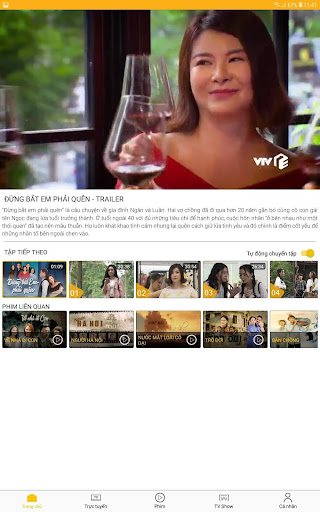 VTV Giai Tri - Internet TV screenshots 10