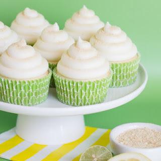 Lemon-Lime Cheesecake Cupcakes