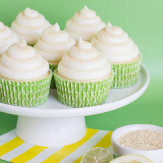 Lemon-Lime Cheesecake Cupcakes.
